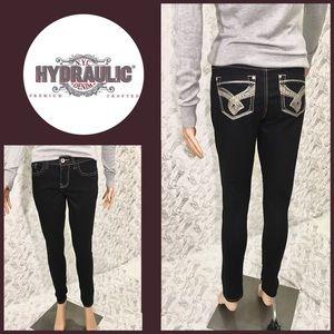 Hydraulic Tribeca Mid Rise Skinny Jeans